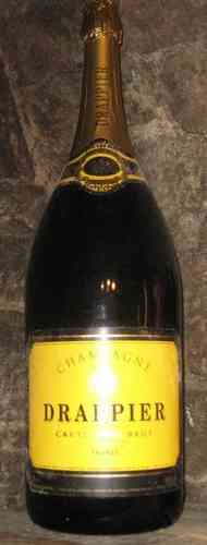 Drappier Carte d`Or Brut 6 Liter, 12% Alc.  Mathusalem