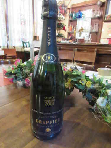 Champagner Drappier Grand Cru 2005